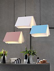 cheap -30cm LED Pendant Light Modern Bedside Light Book Lamp Nordic Single Design Dining Room Restaurant Bedroom PVC Painted Finishes 110-120V 220-240V
