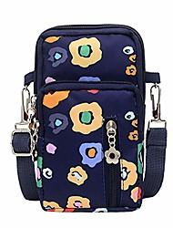 "cheap -fashion women neutral waterproof nylon zipper cartoon students outdoor sports arm bag phone bag shopping shoulder bag (style-h1, 8cm(l) x6cm(w) x17cm(h)/3.14(l) x2.36(w) x6.69(h)"")"