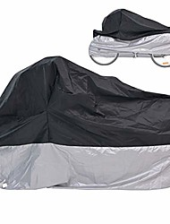 cheap -adult tricycle cover bike cover, outdoor bicycle motorcycle storage cover, heavy duty ripstop material, waterproof & anti-uv (l)
