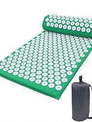 cheap -1set Acupuncture Mats Massage Mats Yoga Mats Acupoint Massage Mats Acupuncture Mats Sports Mats Acupuncture Pillows