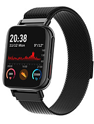 cheap -M96 Unisex Smartwatch Bluetooth Heart Rate Monitor Blood Pressure Measurement Calories Burned Health Care Camera Control Stopwatch Pedometer Call Reminder Activity Tracker Sleep Tracker
