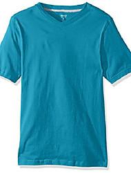 cheap -men's short sleeve v-neck tee, surf the web, medium