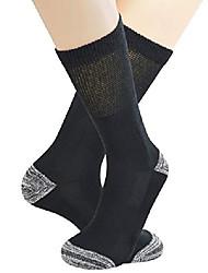 cheap -cotton hiking outdoor crew socks non-binding cushion trekking socks year round,3 pairs