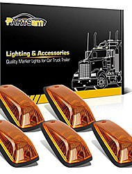 cheap -5x cab roof marker amber cover 264159am + 5x base compatible with c1500 c2500 c3500 k1500 k2500 k3500 1988 1989 1990 1991 1992 1993 1994 1995 1996 1997 1998 1999 2000 2001 2002