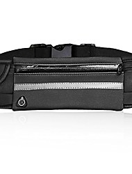 cheap -running belt waist pack - water resistant runners belt fanny pack for hiking fitness - adjustable running pouch for all kinds of phones iphone android windows