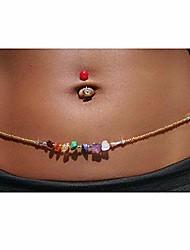 cheap -waist beads jewelry african shell turquoise bead waist chain bohemia bikini bead belly chains body jewelry, bead waist chain for summer beach