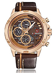 cheap -mens watches waterproof 24 hour date quartz watch man leather sport wrist watch men waterproof