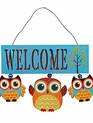 cheap -owl welcome sign door decoration hanging welcome sign wood wall hanging sign door decor home porch decorations for fall thanksgiving christmas