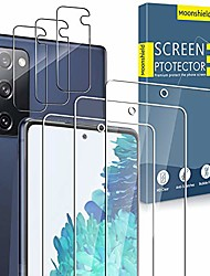 cheap -3-Pack Camera Lens Protector+3-Pack Tempered Glass Screen Protector For Samsung Galaxy S21 5G S21 Ultra HD Clarity No-Bubble Screen Protector For Samsung Galaxy S21+ S20 Plus S10Lite S20fe S10e