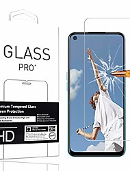 cheap -suitable for oppo a52 screen protector tempered glass film [1 pc] high definition anti-scratch phone protective film screen protector for oppo a52