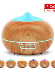 cheap -Electric Air Humidifier Wood Grain Ultrasonic Air Humidifier Home Essential Oil Vaporizer