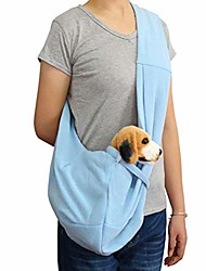 cheap -dog and cat sling carrier, adjustable pet sling carrier, reversible and hands-free dog bag with adjustable strap and pocket for puppy, small dogs, and cats for outdoor travel