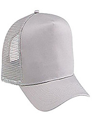cheap -cn twill five panel pro style mesh back caps - gray - by thetargetbuys