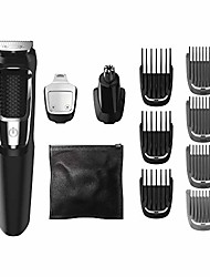 cheap -multigroom all-in-one trimmer series 3000 with 13 pieces - no blade oil needed, mg3750/50