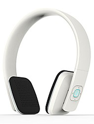 cheap -bluetooth headset, hands free headphones, high end v4.0 hifi stereo on ear earphones with mic, noise canceling, for apple iphone 4 5 6 6s plus samsung galaxy s5 s6 note edge and other android (white)