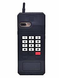 "cheap -iphone xs case cute iphone x case cute iphone xs case, 3d cartoon retro classic cellular phone shaped stand silicone rubber teen girls women cute phone cases iphone x xs 5.8"" (black, iphone x/xs-5.8"")"