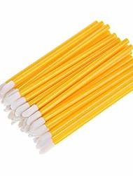 cheap -50pc disposable lip brush wholesale gloss wands applicator women make up tool sponge brush lip brush