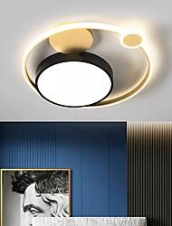 cheap -45cm LED Ceiling Light Modern Nordic Planet Desgin Tricolor Light Flush Mount Lights Metal 110-120V 220-240V