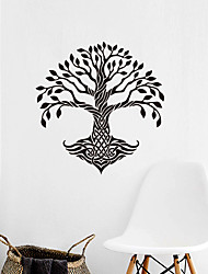 cheap -Creative Personality Tree Of Life Mandala Culture Yoga Home Background Decoration Can Be Removed Stickers 57*59CM