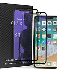 cheap -wzlive 2 pack iphone x screen protector 3d full coverage tempered glass soft edge bubble free anti-blue light eye-protective anti-scratch 9h hardness hd clear,0.22mm ultra-thin black