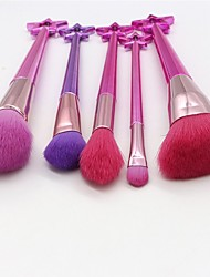 cheap -5 Pcs makeup brushes set new professional fairies series of beauty tools multi functional combination portable suit makeup brush