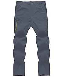 cheap -outdoor mens lightweight elastic waist hiking pants easy wash and dry quickly