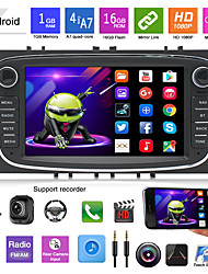 cheap -16G 32G Android 7Inch Car DVD MP5 Player for Ford Focus Mondeo Galaxy With Radio Stereo GPS Navigation Car Multimedia Touchscreen MP3 Player