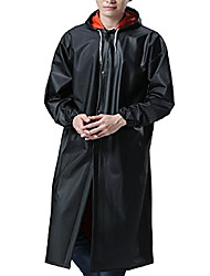 cheap -unisex hooded pvc soft raincoat outdoor waterproof workwear fishing jacket with cuff claret