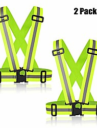 cheap -reflective bands for wrist, arm, ankle, leg, high visibility reflective running gear for men and women, safety reflective straps bracelets for night running, cycling, walking.