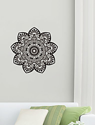 cheap -Creative Personality Flower Of Life Mandala Culture Yoga Home Background Decoration Can Be Removed Stickers 42*421CM