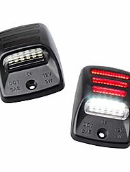 cheap -led license plate lights with red oled neon tube compatible with tacoma 2005 to 2015, tundra 2000 to 2013