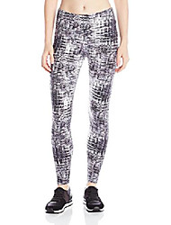 cheap -women's allover printed wide band 23 inch inseam leggings, night hashtag, petite/small