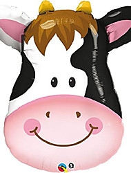 """cheap -contented cow shape balloon pack, 32"""""""