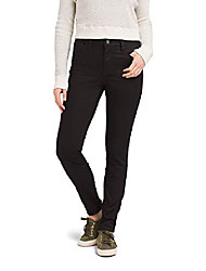 cheap -women's oday jean - tall inseam, black out, 8