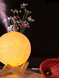 cheap -Ultrasonic Aroma Diffuser Essential Oils USB Air Humidifier Full Moon Lamp Night Light Office Mist Purifier 880ml