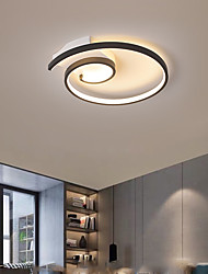 cheap -42cm 52cm LED Ceiling Light Round Spiral Design New Bedroom Lamp LED New Fashion Simple Room Ceiling Lamp Personalized Aluminum Study Dining Room Lamps Christmas decoration