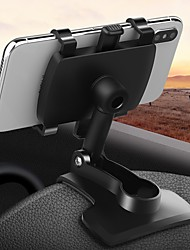 cheap -Phone Holder Stand Mount Car Dashboard Anti-slip Mat Buckle Type 360°Rotation ABS Phone Accessory