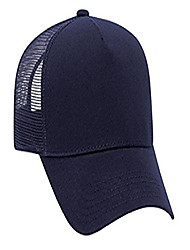 cheap -jersey knit five panel pro style mesh back caps - navy - by thetargetbuys