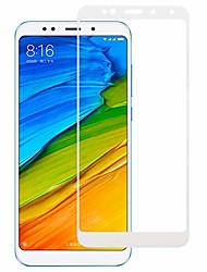 cheap -screen protector protective 0.33mm 9h 2.5d full screen fully adhesive tempered glass film for xiaomi redmi 5 plus(white) glass film (color : white)