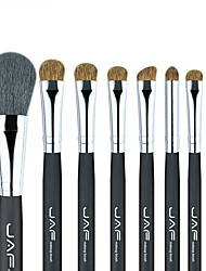 cheap -Softcover JAF brand 8 Pcs animal hair makeup brushes Beauty tool set J0815AY-B