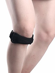 cheap -patella stabilizer adjustable hinged knee strap brace tendon support arthritis pain relief jumpers (black)