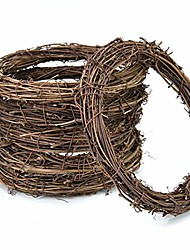 cheap -grapevine wreath twigs wreath diy vine wreath for rustic christmas wreath door garland home wedding party decor gift hanging decor wreaths supplies(circular,12 inch,3-park)