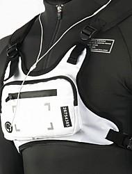 cheap -Running Backpack Vest Chest Bag Utility Rig 0-20 L for Fitness Gym Workout Marathon Running Sports Bag Adjustable Size Wearable Earphone Hole Reflective Strip Mini Nylon Women's Men's Running Bag