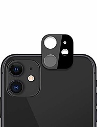 cheap -screen protector protective for iphone 11 2pcs 0.15mm 9h 2.5d round edge rear camera lens tempered glass film(black) glass film (color : black)