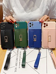 cheap -Phone Case For Apple Back Cover iPhone 11 iPhone XR iPhone 11 Pro iPhone 11 Pro Max iPhone XS Max iPhone 6 Plus iPhone SE / 5s iphone 7/8 iphone X / XS iPhone SE 2020 Shockproof Solid Colored TPU
