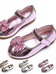 cheap -girls mary jane flat slip-on party dress shoes for kids toddler(pink30 us 11)