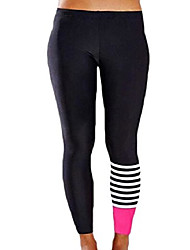 cheap -women's slimming yoga stretch workout leggings sport pants as picture m