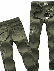 cheap -military urban tactical pants men cotton army cargo pants casual many pockets zipper soldier combat trousers army green 38