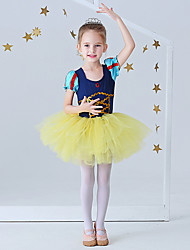 cheap -Ballet Dress Lace Girls' Performance Daily Wear Short Sleeve Polyester / Cotton