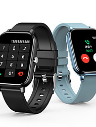cheap -1.54-inch Smartwatch Support Bluetooth Call/Play Music/Voice Assistant/Heart Rate/Blood Pressure Measure, Sports Tracker for Android/iPhone/Samsung Phones